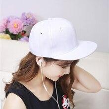HT528 Men Women Fashion Sanpback Caps Hats Unisex Bones Snapback Solid Classic Simple Gorras Snapback Cheap Bone Snapback Hats