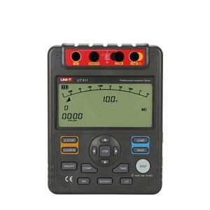 Image 2 - UNI T UT511 1000V 10Gohm Digital Insulation Resistance Testers UT511 Voltmeter Auto Range Megger