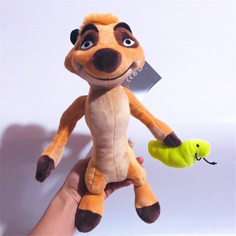1pieces/lot 30cm The Lion Plush Timon Doll Holiday Gifts Children's Toys