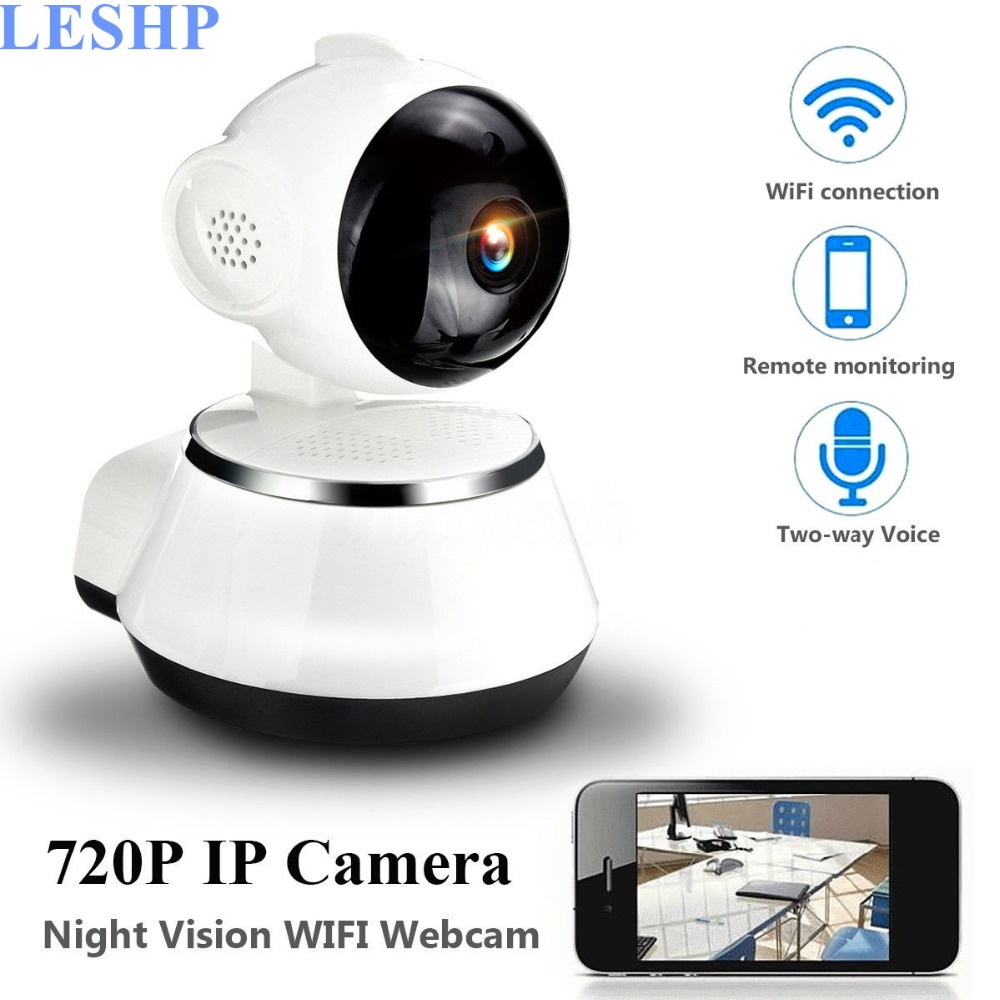 720P HD Wireless Wifi IP Camera Home Security Surveillance Camera Wide Angle Indoor Camera Night Vision Motion Detection oiyea ptz double antenna hd 720p infrared night vision motion detection wifi home security ip surveillance camera