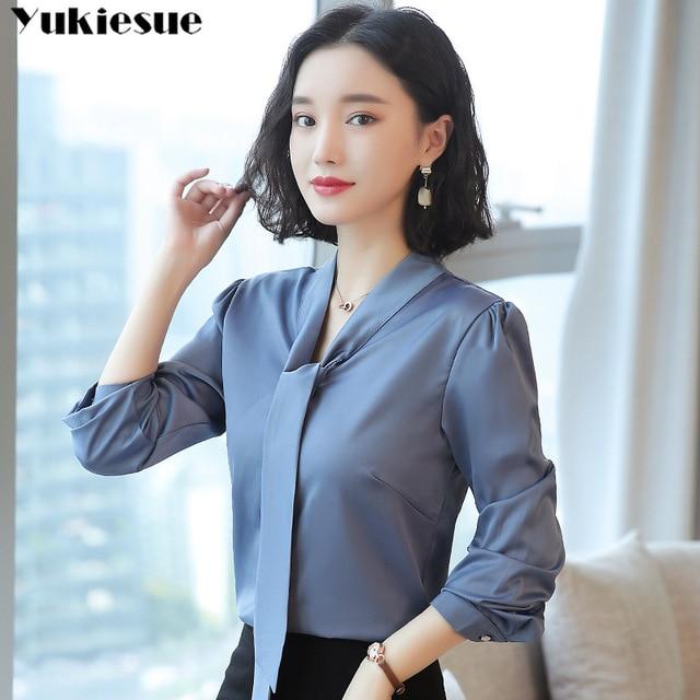 women's blouse shirt women blusas womens tops and blouses fashion woman blouses 2019 long sleeve blusas ladies tops Plus size 2