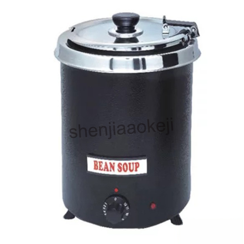 Electric Insulation Soup Stove Stainless Steel Commercial Soup Warmer Buffet Cafeteria Restaurant soup pot heating furnace 230v