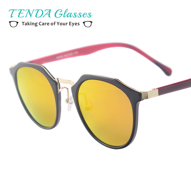 Homens Mulheres Pequeno Rodada Moda Óculos Polarizados TR90 Leve Para a  Prescrição Miopia Lente Multifocal f040dfca09