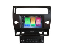 Octa(8)-Core Android 6.0 CAR DVD player FOR CITROEN C4 car audio gps stereo head unit Multimedia navigation
