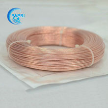 95 meters 311.67feet  6.0mm2  49strands*0.37mm  Teflon Shield High Purity OCC Copper wire for audio DIY Amplifier WAG 09-WAG 10