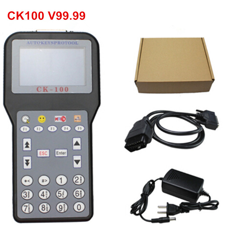 Newest V99.99 CK100 Key Programmer CK 100 Car Key Maker CK 100 Auto Transponder Add Pin Code Service More Vehicles Than SBB LR10