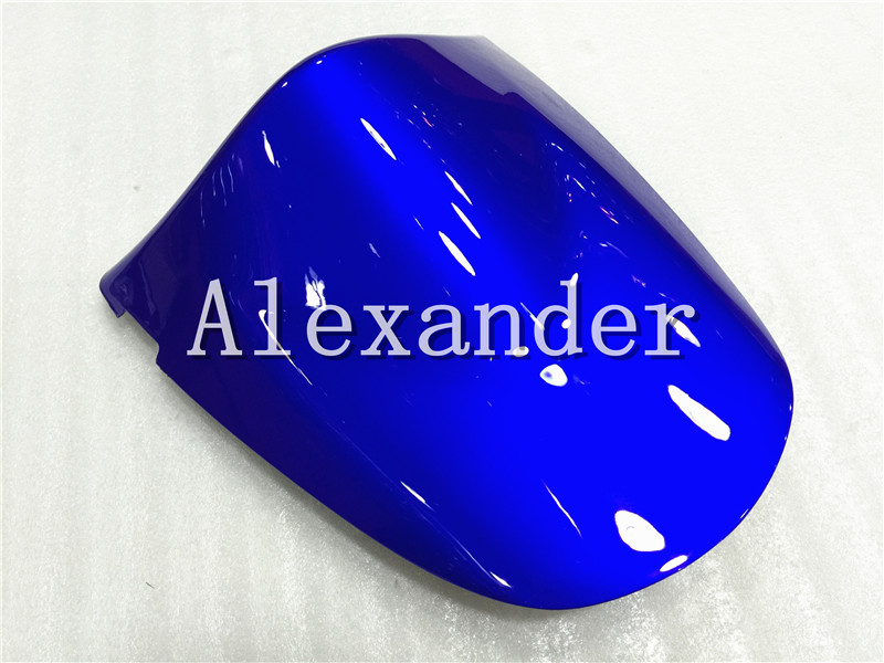 Blue Rear Seat Cover Cowl Solo Seat Cowl Rear For Kawasaki ZX6R 2003 2004 Zx6r 636 Z750 Z1000 2003 2004 2005 2006 Z 750 1000