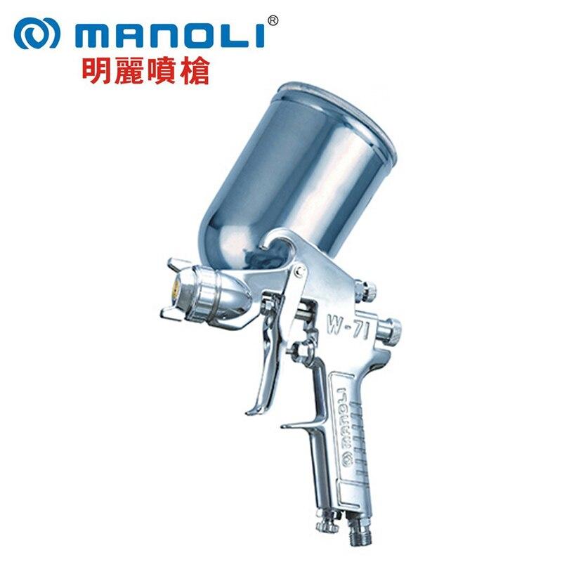 Здесь продается  free shipping,Manoli hand manual Spray gun W-71, gravity suction feed type to choose, W71 painting gun, good atomization  Инструменты