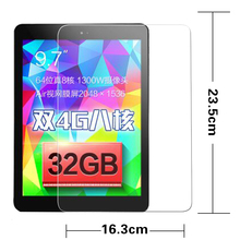very best quality Tempered Glass movie for CUBE T9 9.7 inch Pill PC Anti-shatter entrance Display screen protector Protecting movies