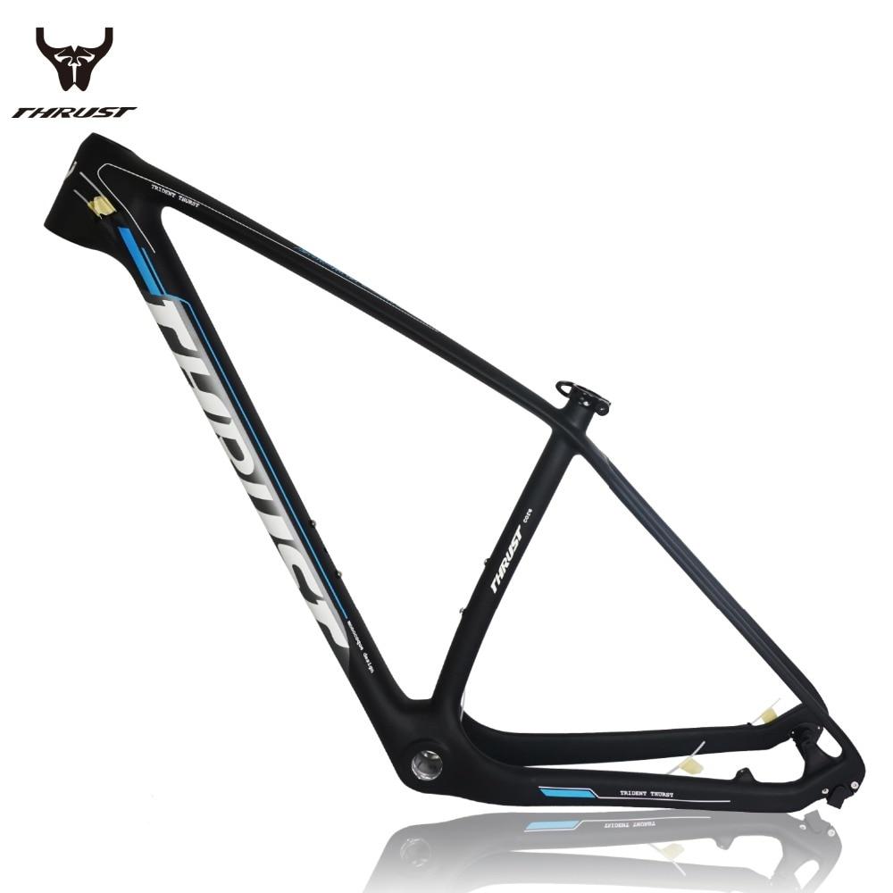 ᑎ‰THRUST Carbon MTB Frame 29er mtb Mountain Bike Frame 15 17 19inch ...