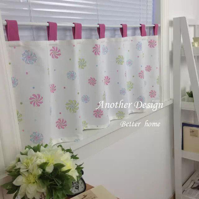 Européenne style simple coton rideau chambre salle de bains douche ...