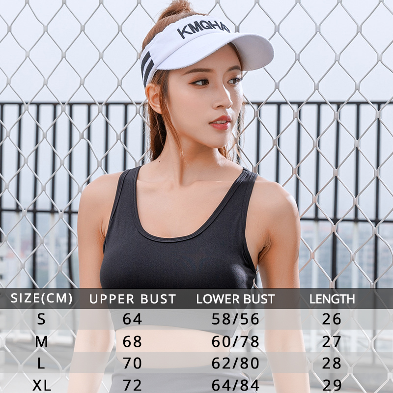 Women Sports Bra With Phone Pocket Tops Compression Push Up Workout Tank Vest Gym Stretch Sportswear Elastic Running Yoga Bh in Sports Bras from Sports Entertainment