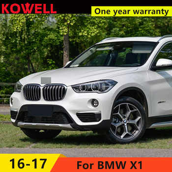 KOWELL Car Styling LED Head Lamp for BMW X1 headlights 2016 for X1 LED angle eyes drl H7 hid Bi-Xenon Lens low beam