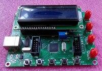 Módulo Gerador de Sinal DDS AD9850 LCD Controle do PC Função de Varredura + fio SMA