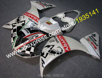 Hot Sales,New Design Motorbike parts For Yamaha YZF R1 YZFR1 YZFR1000 2009 2010 2011 YZF R1 body Accessories (Injection molding)