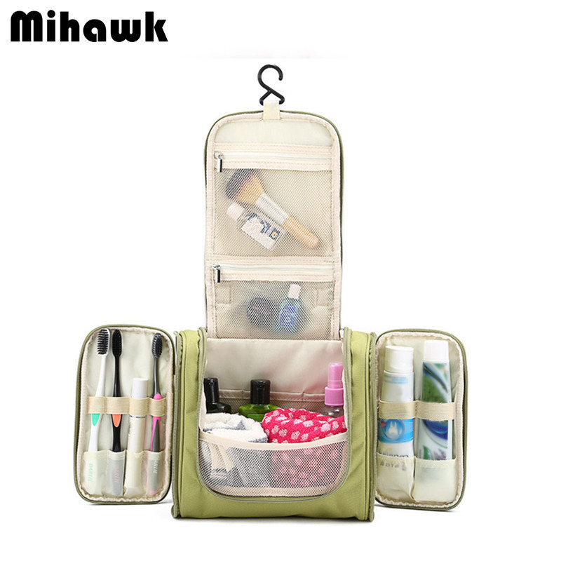 35fe618de58b Hanging Women s Men s Cosmetic Bag Makeup Cases Pouch Toiletry Storage  Organizer Travel Necessarie Accessories Supplies Products