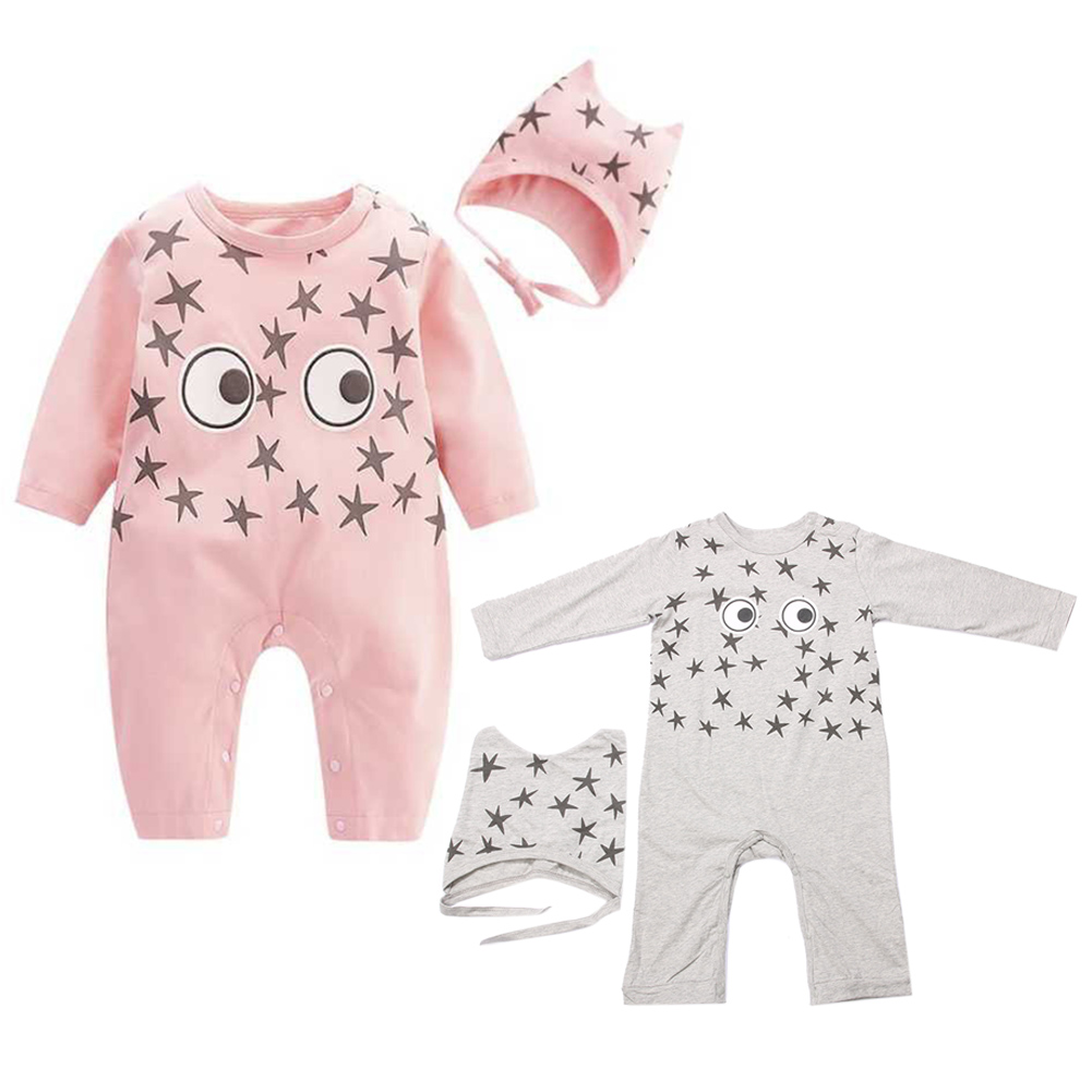 Baby Rompers Baby Clothing Set Fashion Summer Cotton Infant Jumpsuit Long Sleeve Girl Boys Rompers