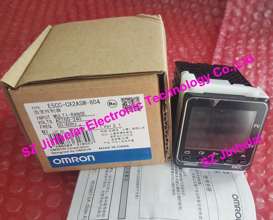 100% New and original E5CC-CX2ASM-804 OMRON Digital controller AC100-240V [zob] 100% new original omron omron proximity switch e2e x10d1 n 2m