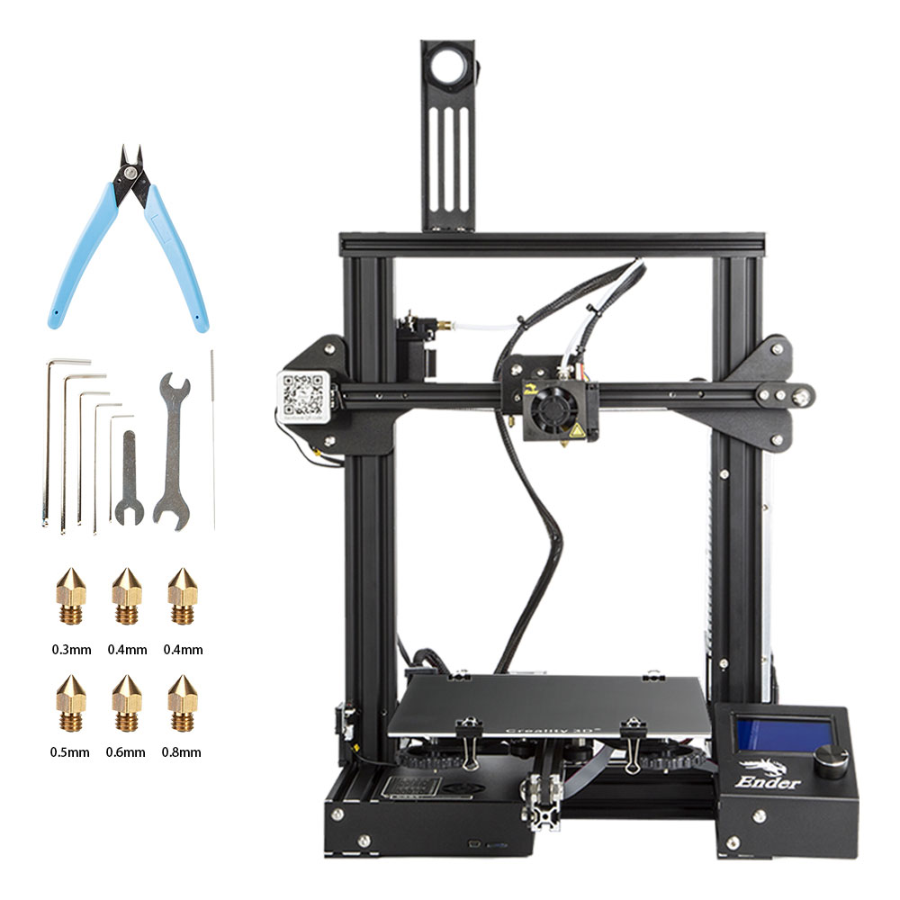 super-creality-3d-ender-3-3d-printer-diy-kit-lowest-price-promote-printing-size-220-220-250mm