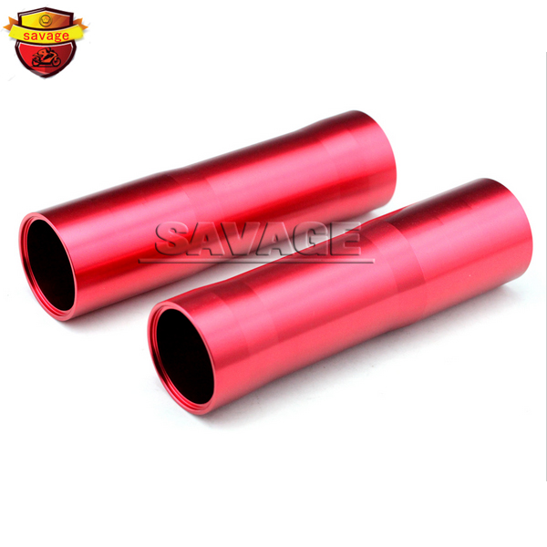 For YAMAHA MT07 FZ07 MT-07 FZ-07 2014-2015 Red Motorcycle CNC Aluminum Front Fork Tube Slider Cover