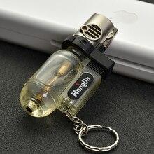 Tragbare Spray Gun Jet Leichter Taschenlampe Turbo Leichter Schlüssel Ring Düsen Winddicht Zigarre Rohr Butan Gas Feuerzeug Für Outdoor 1300 C