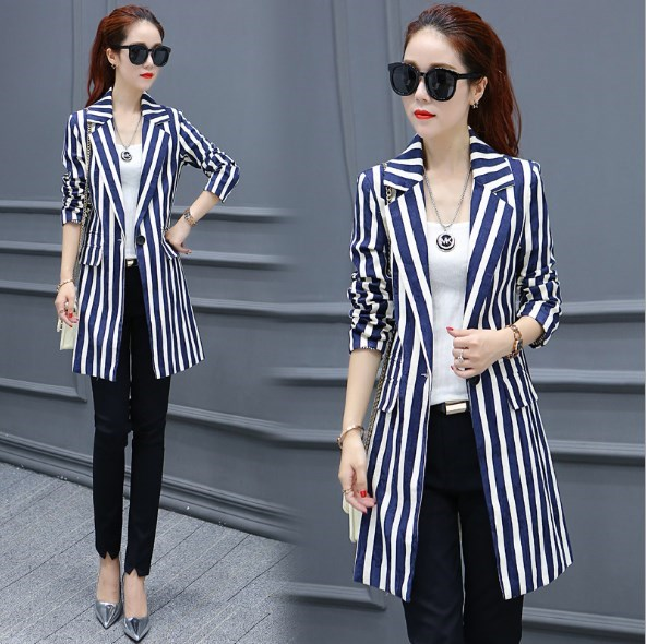 ladies formal office jackets coats ol style black blue red