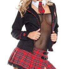 Стиль, соблазнительный костюм для школьницы, 3S1073, сексуальное платье для школьницы, костюм для ролевых игр, вечерние костюмы