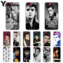 Yinuoda Der könig von rock Elvis Presley Kuss Smart Telefon Fall für Apple iPhone 8 7 6 6S Plus X XS MAX 5 5S SE XR Mobile Fällen(China)