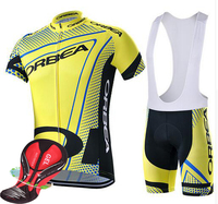 2016 The 100 Polyester Orbea Bike Jersey Bicycle Clothing And Breathing Fast Dry Cycling Jersey Bike