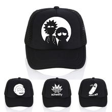 The New US Animation Rick Caps Dad Hat and Morty Hats Adjustable Baseball Cap Fashion casual letter schwifty cap