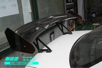 new 3D Carbon Fiber CAR REAR WING TRUNK SPOILER FOR KIA K2 K3 K4 K5 Optima Hyundai Sonata Elantra Sedan VERNA GT STYLE BY EMS
