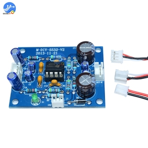 Image 5 - NE5532 OP AMPステレオアンプ基板オーディオハイファイスピーカーアンプモジュール制御ボード回路サウンド開発arduino