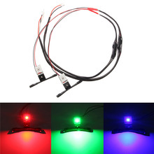 2Pcs Car Devil Demon Eyes Module LED Strips For Projector Lens Headlights Retrofit