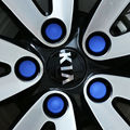 For kia sportage 2016 2017 Silicone Hexagonal Socket Car Wheel Hub Screw Cover Nut Caps Bolt Rims Exterior Decoration Protection