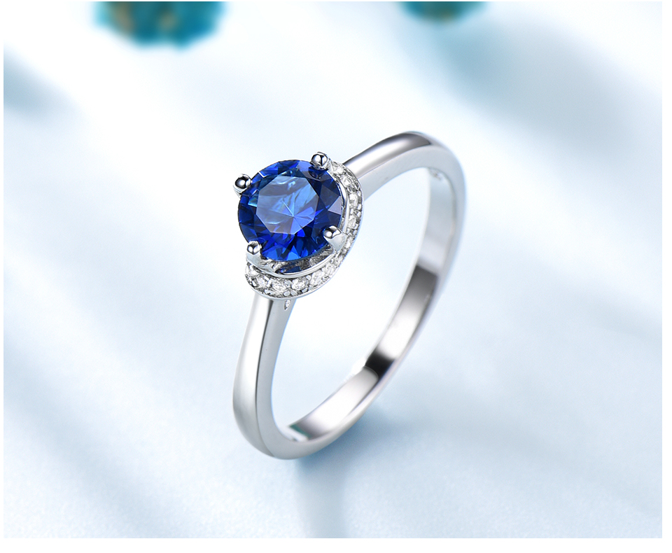 Honyy Sapphire 925 sterling silver rings for women RUJ090S-1-pc (5)