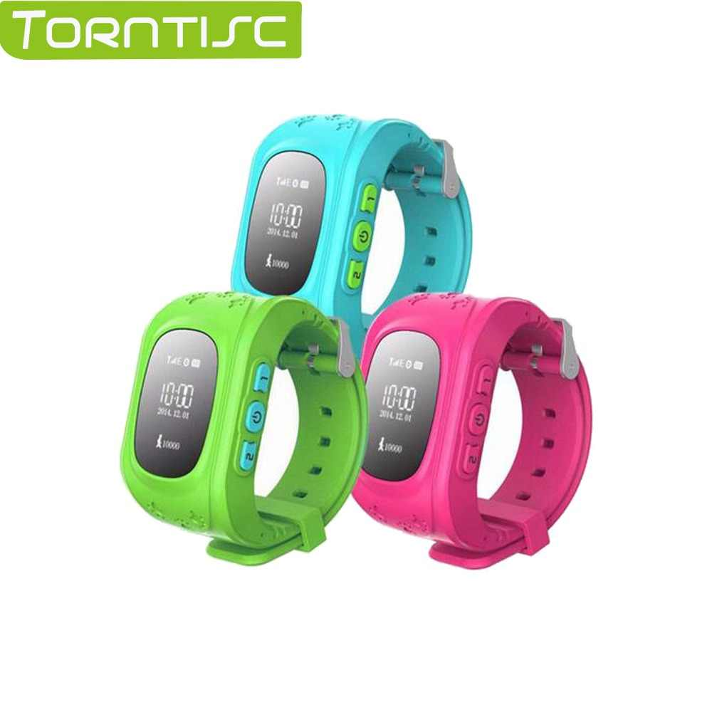 Torntisc Smart watch Q50 kids watches with sim card gps russian smartwatch smart baby watch for children Call Finder Locator