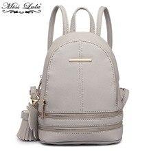 Miss Lulu Women Small Mini Backpack PU Leather School Bags For Teenagers  Girls Ladies Fashion Rucksack Shoulder Daypack YD1705 b0754e22de50