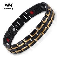 Welmag высококачественный магнитный браслет для здоровья мужские