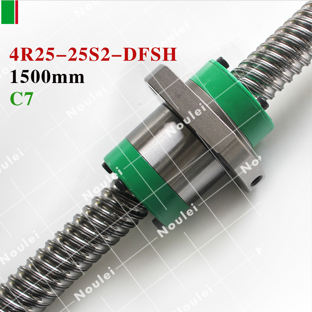 HIWIN DFSH R25-25S2 Ball Screw RM1500mm C7 Rolled Ball Screw and DFSH 2525 Ball Nut for CNC parts shahnawaz husain s c gupta and r c joshi intrusion detection engine for adhoc environment