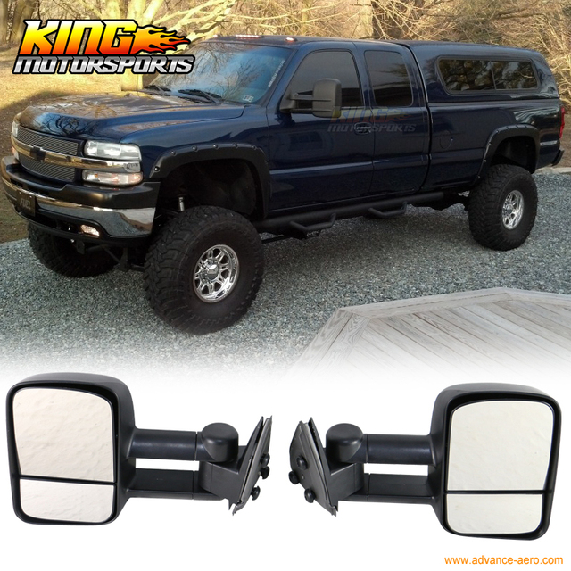 fit for 99 06 chevy silverado gmc sierra side view tow towing mirror rh aliexpress com