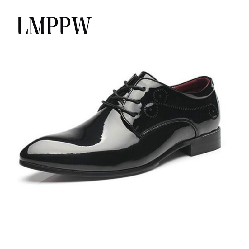 New Arrive Men's Leather Shoes Fashionable British Style Casual Brogue Shoes High Quality Breathable Lace-up Men Oxfords Shoes 8 northmarch high quality men white leather shoes high top men s casual shoes breathable man lace up brand shoes