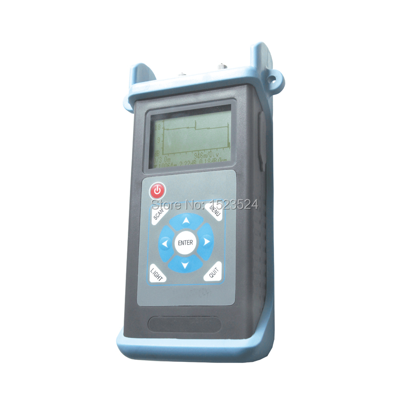 Free Shipping Singlemode 1310/1550nm 23/21dB 60km Optical Time Domain Reflectometer Fiber Optic Mini OTDR
