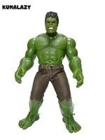 KUMALAZY Hulk Figure Iron Man PVC Action Figure Incredible Hulk Hulkbuster Comic Figure Anime Toy Collection Model Gift