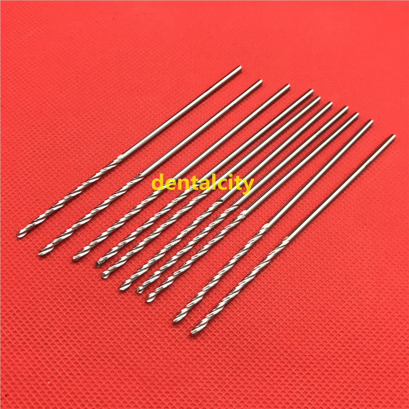 10pcs/set 200mm High Quality Stainless Steel Drill Bits Veterinary Orthopedics Instruments