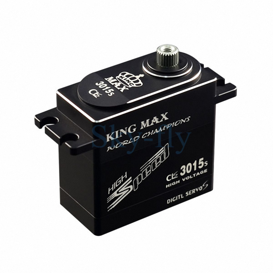 KINGMAX CLS3015S 80g 25kg.cm Torque Alu Metal Gear Digital Servo For RC model jx servo pdi 6115 mg kg 15 large torque torque metal gear steering gear digital hollow cup standards