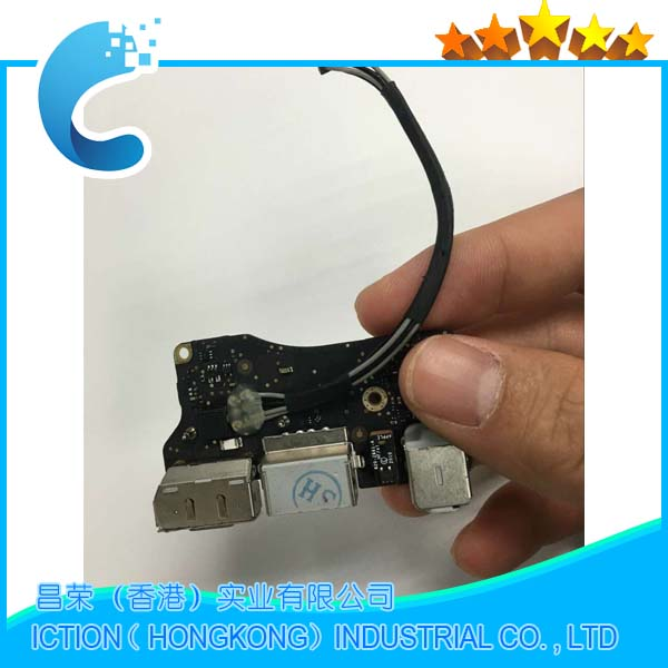 Genuine 820-3057-A for MacBook Air 13.3 A1369 MagSafe DC I/O Power Board USB Port Audio Jack MC965 MC508 EMC 2469 2011 Year i o board usb sd card reader board 820 3071 a 661 6535 for macbook pro retina 15 a1398 emc 2673 mid 2012 early 2013