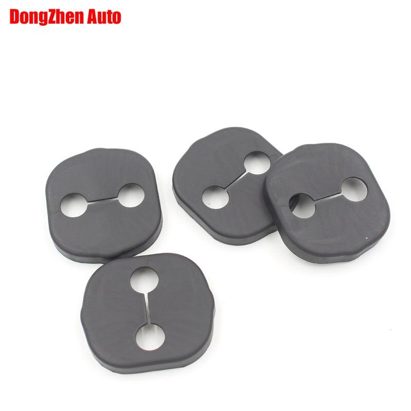 Dongzhen 1 компл. 4 шт. замок двери автомобиля защищая крышку антикоррозионной экстерьер авто аксессуары для KIA Спорт 2013