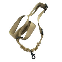 Outdoor Nylon Hunting Tactical Carry Belt Ordinary Waterproof Anti-tear Single Point for Nerf Blaster