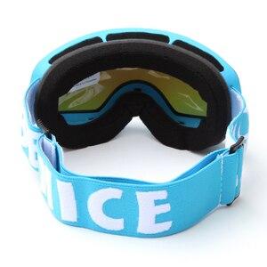 Image 4 - Children Ski Goggles UV400 Anti fog Double Layers Skiing Mask Glasses Snowboard Skating Windproof Sunglasses Skiing Goggles