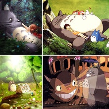 Anime Diamond Painting Totoro Full Square 5d Diy Diamant Hayao Miyazaki Forest Dimond Embroidery Bus Home Decor Gift X5